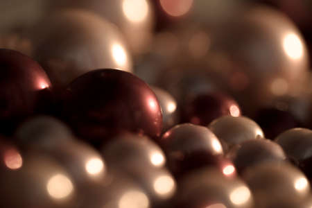 Beautiful background with multicolored pearls.3d rendering, 3d illustration.