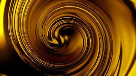 Luxury beautiful splash of gold flow. 3d rendering, 3d illustration. Stock Photo
