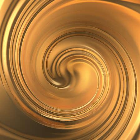Luxury beautiful splash of gold flow. 3d rendering, 3d illustration. Stock fotó