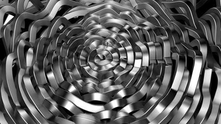 Metal industrial grunge background. 3d rendering, 3d illustration.