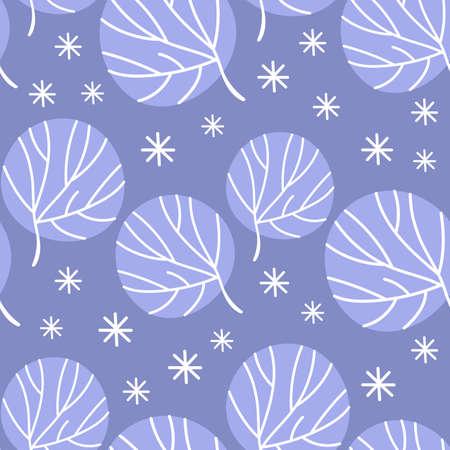 ALASKA SKETCH Winter Comic Funny Flat Design Cartoon Hand Drawn Seamless Pattern Vector Illustration For Print