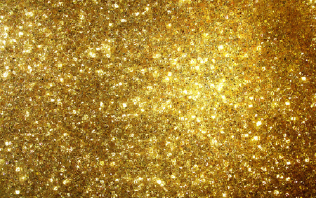 Golden shimmer and glitter background, gold wallpaper
