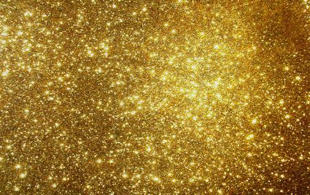Golden background, Gold Shimmer and glitter Stock Photo