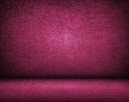 Purple background, Studio wall and floor Stock Photo