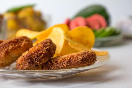 Chana Chaat, Chola Chaat, Ramadan iftar plate
