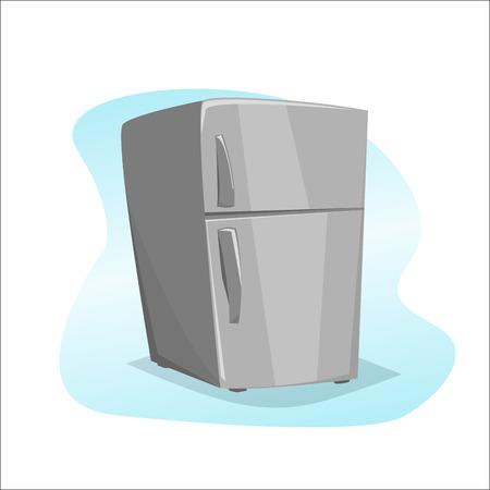 illustration: Refrigerator illustration