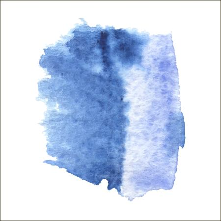 Abstract watercolor art hand paint isolated on white background.