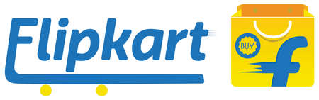Conceptual Vector Logo of Flipkart. Flipkart is an Indian market e-commerce website.