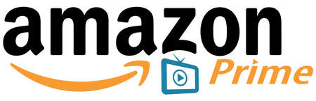 Amazon Prime Video Conceptual Vector logo. Amazon Prime is a global provider of services for watching TV  and movies. Illustration