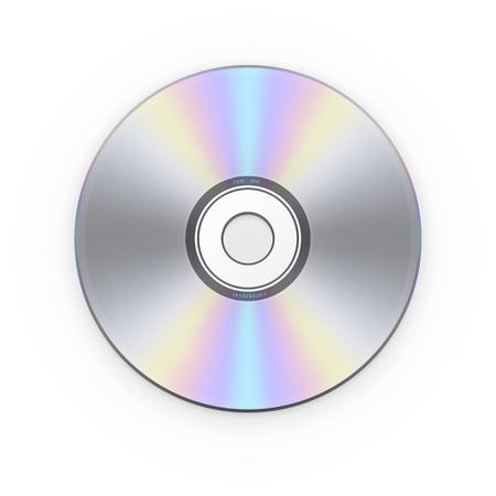 CD disk. Vector illustration
