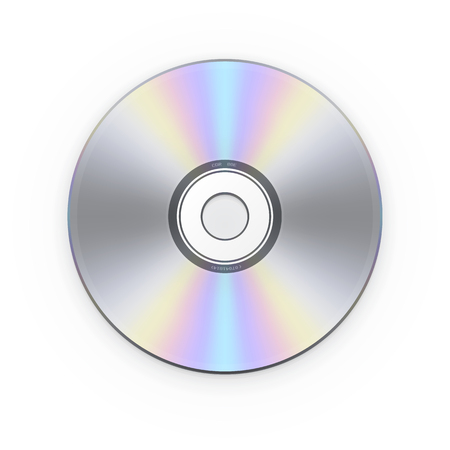 CD disk. Vector illustration