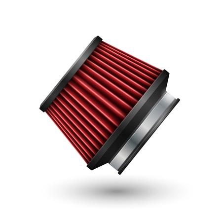 Car filter. Vector illustration Illustration