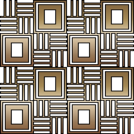 Geometric seamless ornament for ceramics, wallpaper, textile, web, cards. Ethnic pattern. Border ornament. Tribal ornament for fabric, surface design, wrapping paper or template.