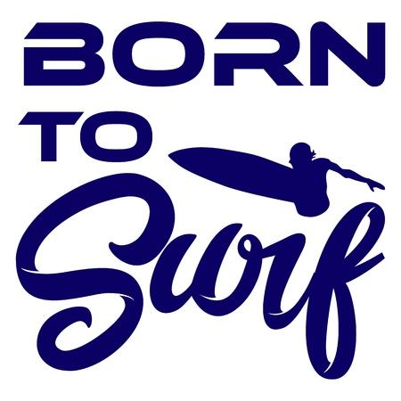 Montauk Surfing. Urban Apparel Modern Design Typography for Silk Screen Print
