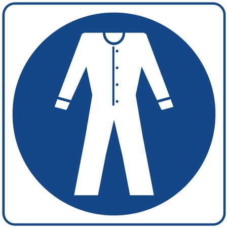 Mandatory Signs - Protective Clothing Must Be Worn In This Area.