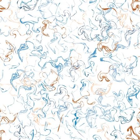 Texture abstraite de fibre de fil de couleur aléatoire organique. Vecteurs