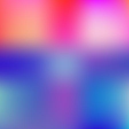 Fond coloré. Arrière-plan flou de couleur bleu et rouge défocalisé.