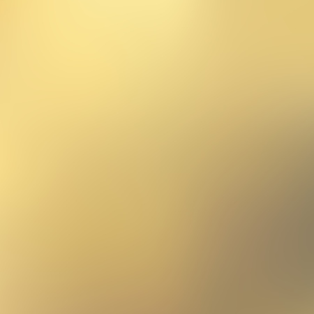Vector gold blurred gradient style background. Abstract smooth colorful illustration, social media wallpaper. Ilustração