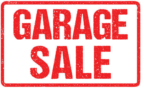 Garage Sale Typography Isolated on White. Rubber Stamp Imitation EffectBest Choice Typography Isolated on White. Rubber Stamp Imitation Effect