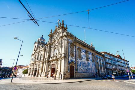 carmo: PORTO,PORTUGAL - OCTOBER 20,2012 : Carmelitas Church and Carmo Church, Porto, Portugal