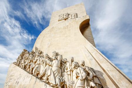 Monument aux découvertes de Lisbonne Portugal