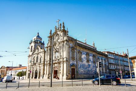 carmo: PORTO,PORTUGAL - Carmelitas Church and Carmo Church, Porto, Portugal