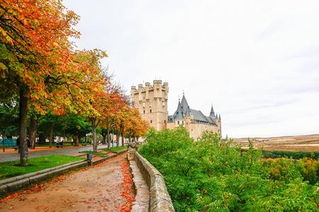 segovia: Alcazar of Segovia, Spain