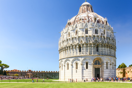 Pisa Duomo in Pisa, Italy. Editorial
