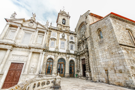Gothic church of Saint Francis Igreja de Sao Francisco in Porto, Portugal Stock Photo