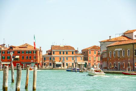 Murano glass making island, Venice, Italy Stock Photo