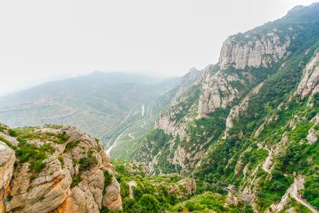 Montserrat mountains, Spain Stock Photo