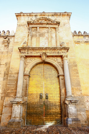 Wall of Great Mosque, Cordoba, Spain