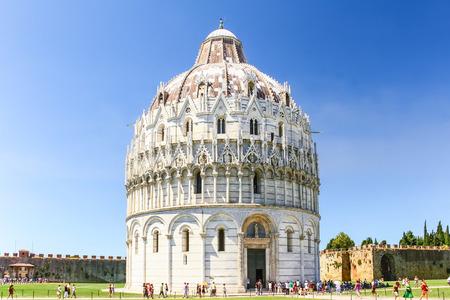 Pisa Duomo in Pisa, Italy. Stock Photo