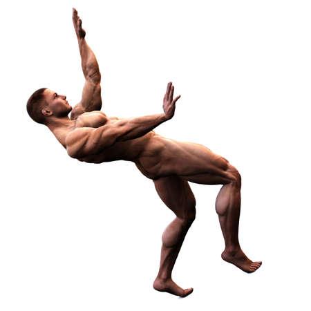 nudo maschile: fermata