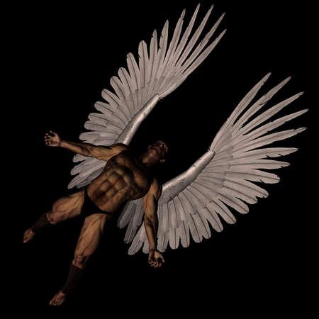 3D gestraft engel