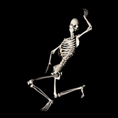 skelet 77 Stockfoto