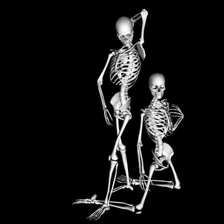 skelet 87 Stockfoto
