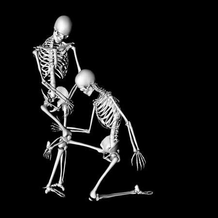 radius: skeleton 88 Stock Photo