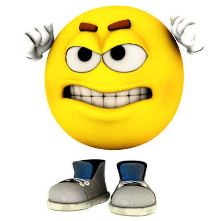 emotion guy Stock Photo