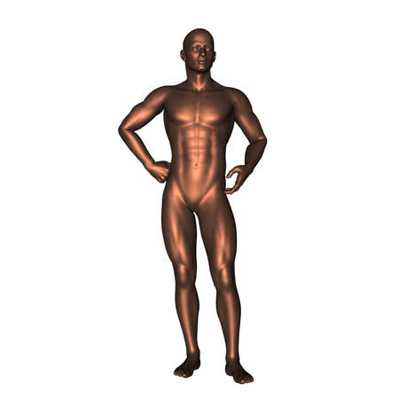 naked statue: statue 143