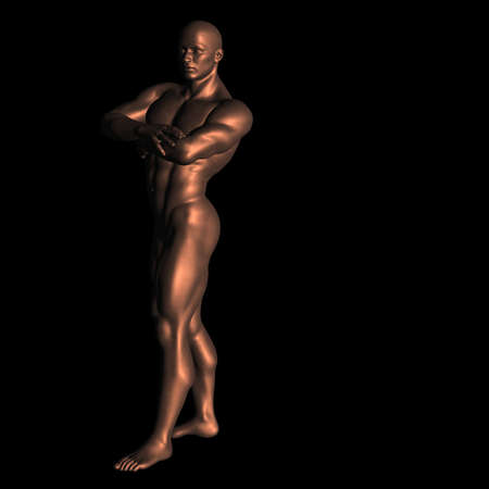 naked statue: statue 147