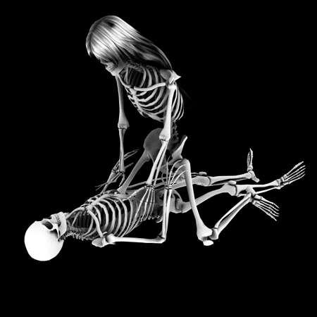 skeleton 182 Reklamní fotografie - 10594379