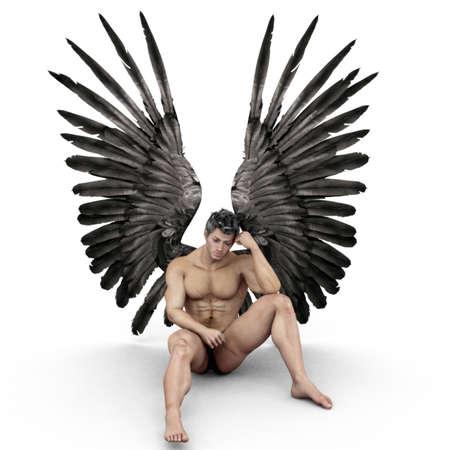 nudo maschile: Angelo  Archivio Fotografico