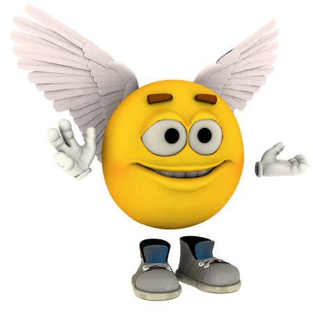 emote: angelic