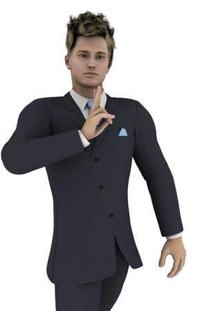 good looking man: good looking man Stock Photo