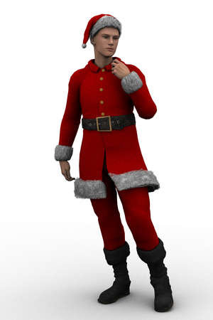 santa s elf: young santa claus