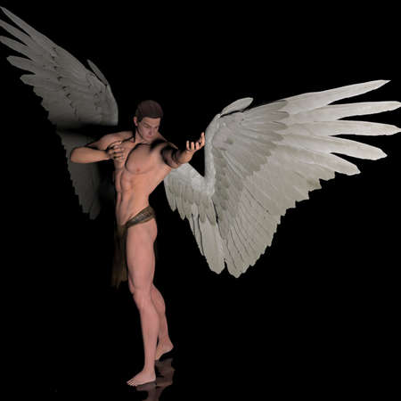 Higher power angel photo