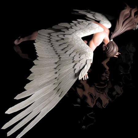 alas de angel: ca?do