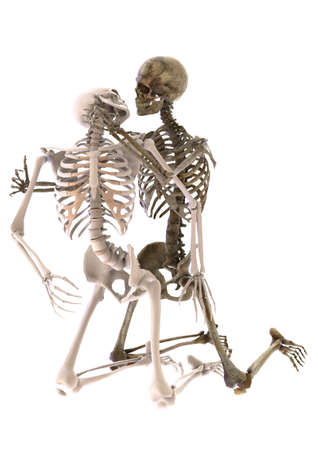 skeletons in sexual position