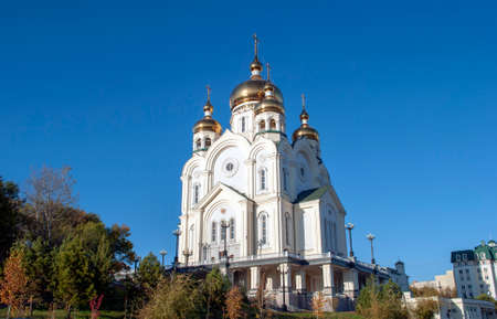 The Orthodox Church in the city of Khabarovsk
